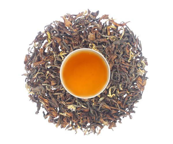 smoky muscatel tea